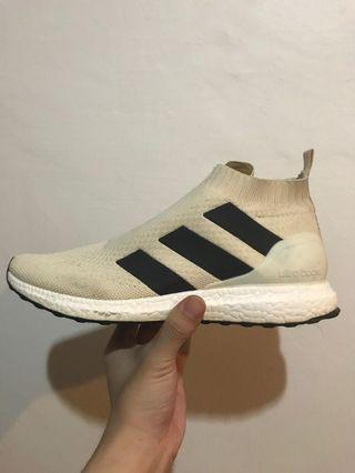 Adidas Ace Ultra Boost White Football Sneakers