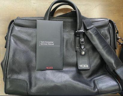 TUMI Original Bag Black Original Leather