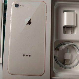 全新 iphone 8 附的原廠充電頭 充電線