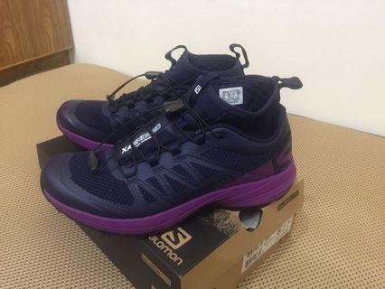 🚚 可議 Salomon XA ENDURO 葡萄紫越野跑鞋