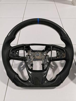 Honda Civic FC Carbon fiber steering