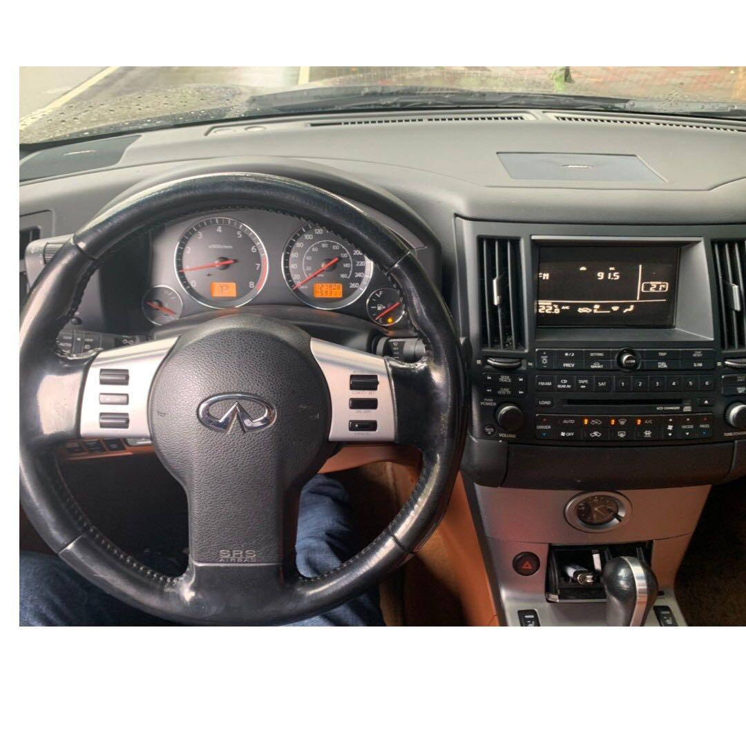 2005 FX35 新車價2百多萬 妥善率優 安全 馬力大