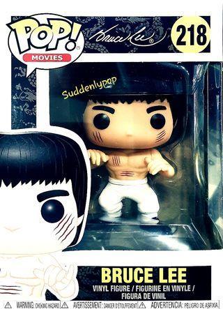 🚚 Funko Pop Movies Bruce Lee #218 (White Pants)