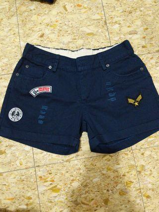 🚚 Navy Blue Short