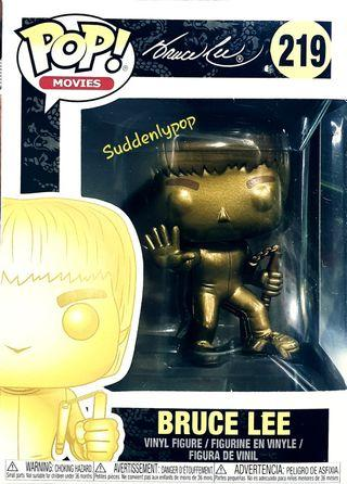 🚚 Funko Pop Movies Bruce Lee #219 (Gold)
