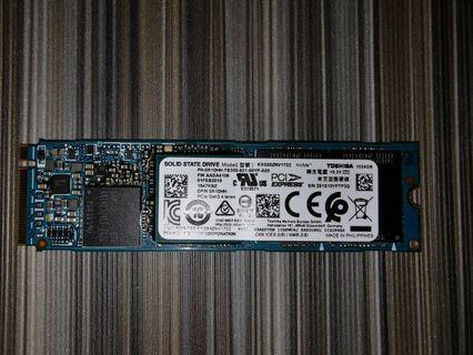 BRAND NEW Toshiba XG5 KXG50PNV1T02 1TB M.2 SSD PCIe 3.1a NVMe M.2 Solid State Drive Super Fast