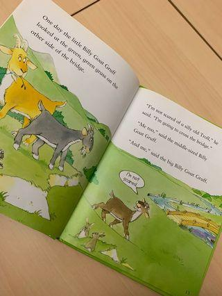 幼兒書 書 書籍 story book The goose that laid the golden eggs usborne