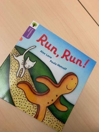幼兒書 書 書籍 story book oxford reading Run Run