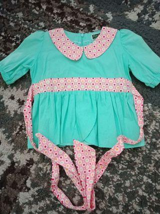 Cotton Peplum Blouse Kids