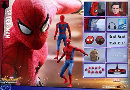 Hot Toys Homecoming Spiderman