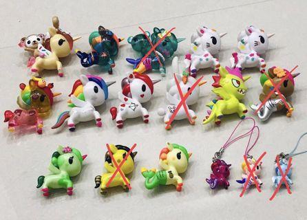 Tokidoki Unicornos Series 1 2 3 4 5 6 7 Friends Metallico Mermicorno Brand New Pucky Melody Kitty Sanrio Unicorn