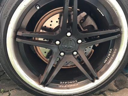 S4 bbk for sale with drilled disc