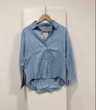 🆕 Blue Button Down Shirt