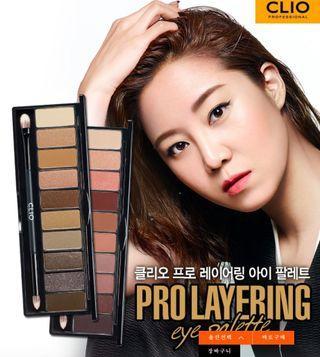 🚚 prolayering clio眼影