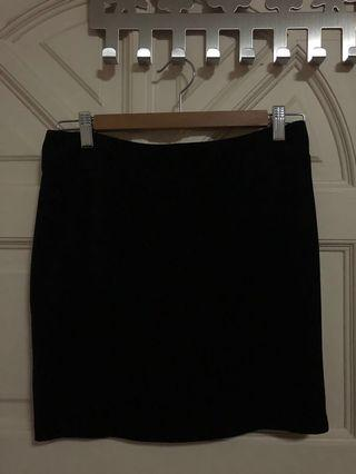 Elements formal black skirt