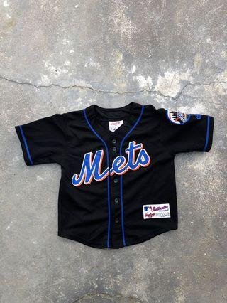 Authentic Preloved Rawling Mets Baseball Jerset