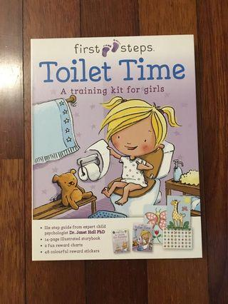 Toilet Time Book Girl
