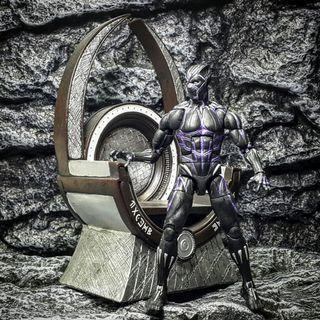 黑豹皇座地台場景  Black Panther Throne - 1:12比例