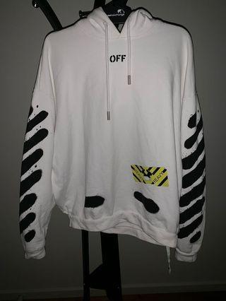 OFF WHITE Mirror Mirror hoodie