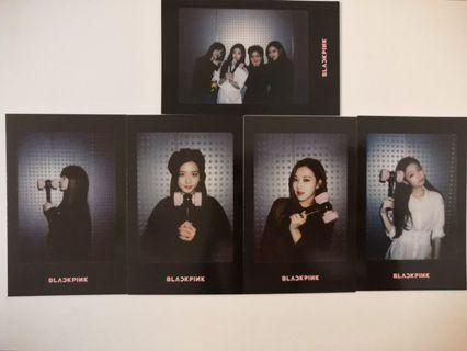 Blackpink Official Lightstick Preorder Photocard