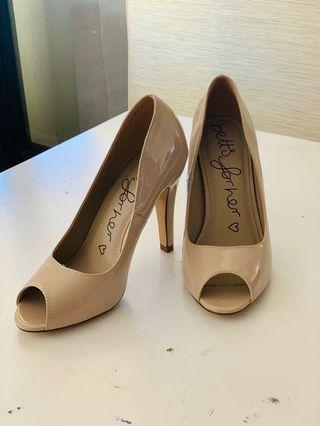 betts nude pump shoes