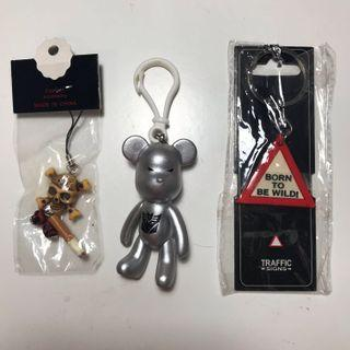 bundle key rings/chains $10