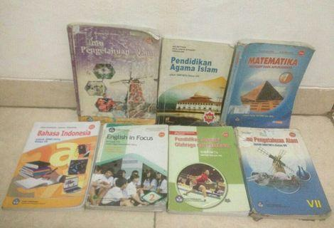 #mauthr Buku paket kelas 7 8 9 smp ktsp 2006 bisa di nego