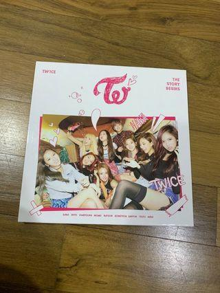 🚚 Twice The Story Begins Album