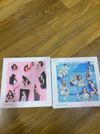 🚚 Twice page two album
