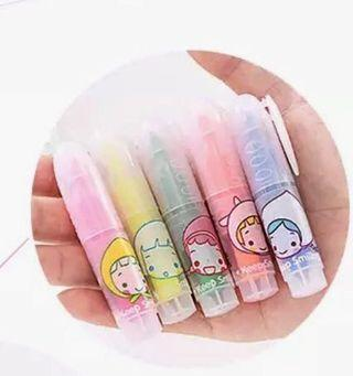 🚚 5 Mini highlighters pack