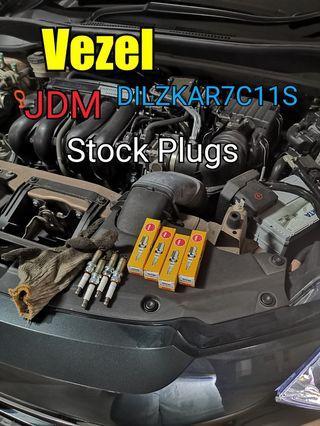 Vezel Stock spark Plugs Replacement ( JDM DILZKAR7C11S )