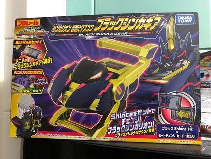 黑色新幹線 青龍 超進化變身器 大飛機 所有新幹線戰士通用 Black Shinka Gear