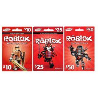 Roblox Game Card (US)