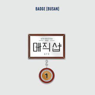 Busan Badge BTS 5th MUSTER MD