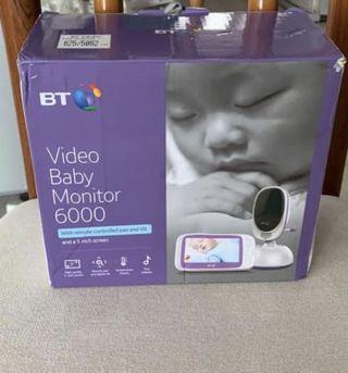 🚚 BT Video Baby Monitor 6000