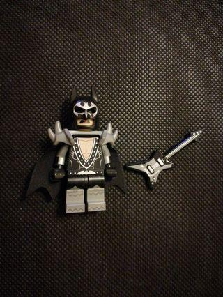 Lego Batman Glam Metal Minifigure