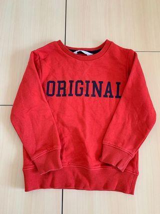 Sweater boy's sweater