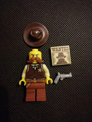 Lego The Sheriff Minifigure