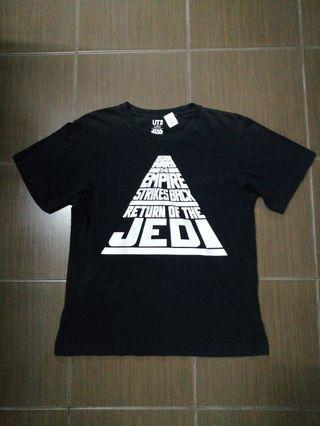 Starwars Uniqlo Crossover Shirt For Sale