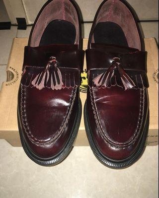 Dr. Martens shoes - cherry red rouge