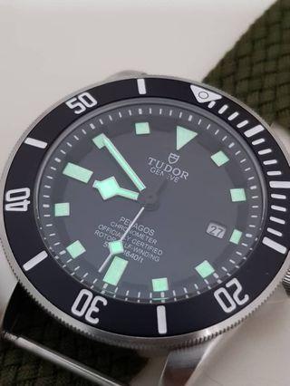 Tudor Pelagos Diver 500M watch (Black edition)