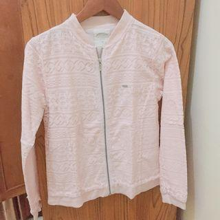 Jacket Pink Renda