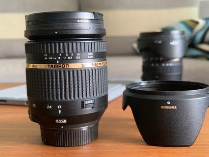 Tamron Nikon Mount 17-50mm f2.8 VC *Highly motivated seller!*