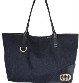 Fast deal 300!!💯 Authentic Gucci Black tote bag