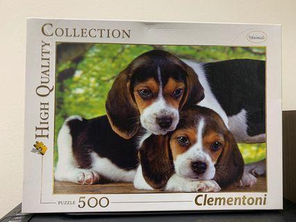 🚚 Cute Doggies Puzzle 500pieces