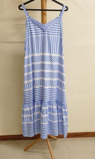 IROO Size 36 Striped Dress
