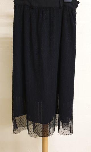 Rococo Size S Black Skirt