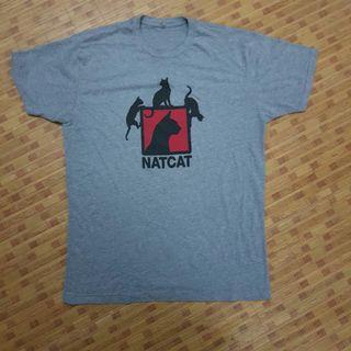 Natcat Cat T shirt