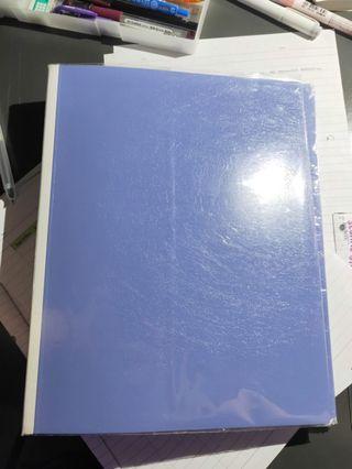 🚚 bnip lilac b5 ring file