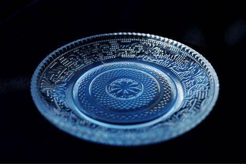 日本帶回 vintage復古玻璃碟